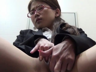 Asian ho watched rubbing