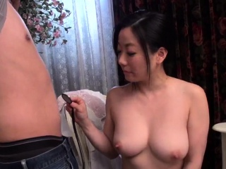 Busty Shino Izumi loves sucking the cock until orgasm