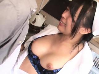 Natsume Eri Cosplay Nurse Fucked In The Kitchen