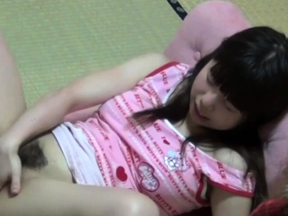 Japanese teenager in solo