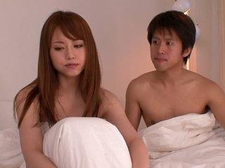 Incredible Japanese chick Akiho Yoshizawa in Fabulous office, upskirts JAV movie