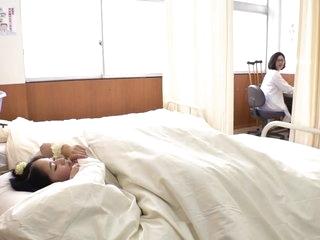 Have sex hiding under blanket in medical room- School Uniform
