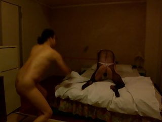 Chastity slave Izumi crying with a whip by a mature woman