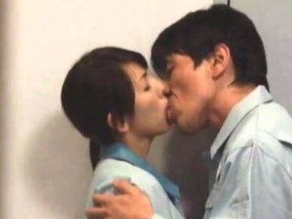 Lusty nipponese perfection caresses big dick