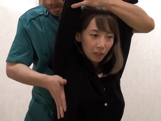 Japanese brunette is about to get a pussy massage from a guy she secretly likes a lot