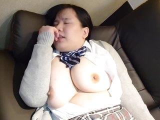Cosplay Japanese My Girlfriend Huge Tits Big Boobs