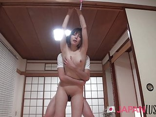 Shy Japanese MILF Gives Up Control