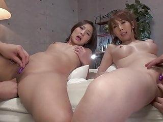 Uika Hoshikawa & Aya Kisaki ::  Close Up Pussy 1 - CARIBBEAN