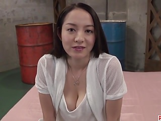 Anna Mihashi deals cock up the pussy in hot romance