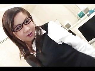 Beautiful Japanese Office Lady